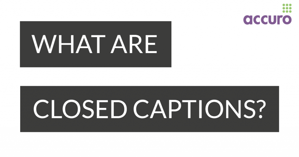what are closed captions image